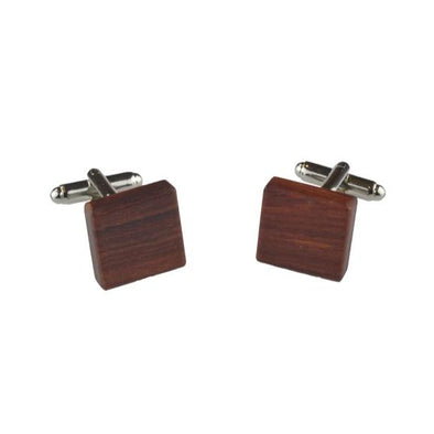 Peggy and Finn Wooden Cufflinks – Jarrah