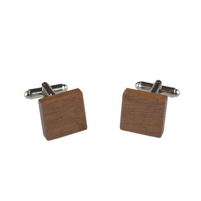 Peggy & Finn Wooden Cufflinks - Roasted Blackbutt