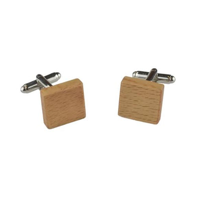 Peggy and Finn Wooden Cufflinks - Tasmanian Oak