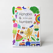 Kids Alphabet & Numbers Flash Cards