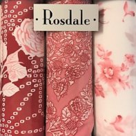 Mens 5 Pack Handkerchiefs - Red Flowers by Rosdale