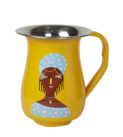 Ruby Star Global Village Jug - Yellow