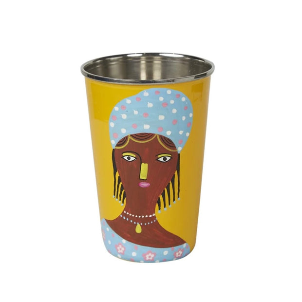 Ruby Star Global Village Tumbler - Yellow