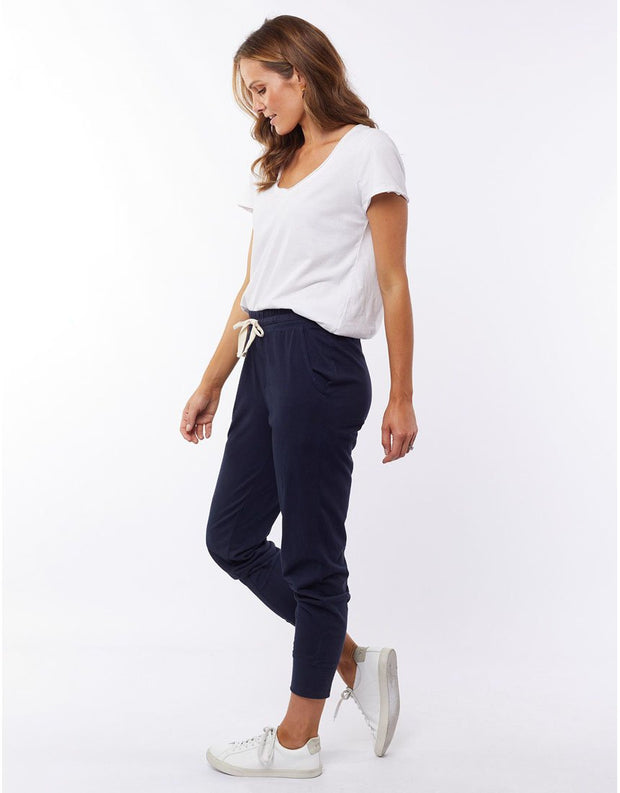 Elm Navy Wash Out Lounge Pant