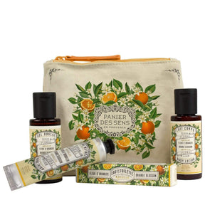 Panier Des Sens Orange Blossom Travel Gift Set