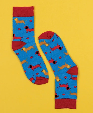 Barking Mad Kids Socks 6-10yrs by Sock it up