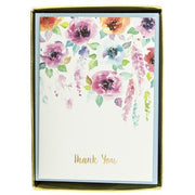 Hanging Flowers Thank You Boxed Cards by Graphique