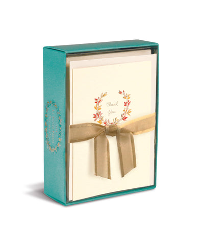 Autumn Wreath La Petite Presse Boxed Cards by Graphique