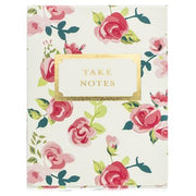 Pretty Floral Pocket Notes by Graphique