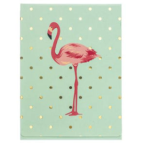 Flamingo Pink Pocket Notes by Graphique