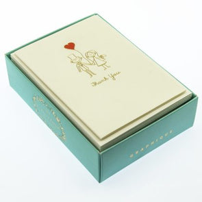 Happy Couple La Petite Presse Boxed Cards by Graphique