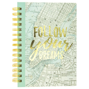 Follow Your Dreams Hard Cover Journal by Graphique