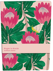 Roger la Borde King Protea A5 Softback Journal