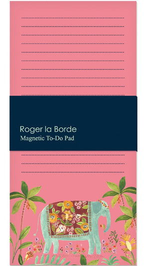 Roger la Borde Over the Rainbow Magnet Notepad