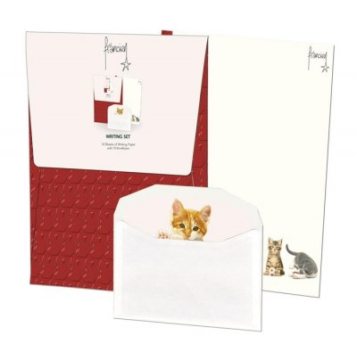Franciens Cats Writing Set Writing Paper Set