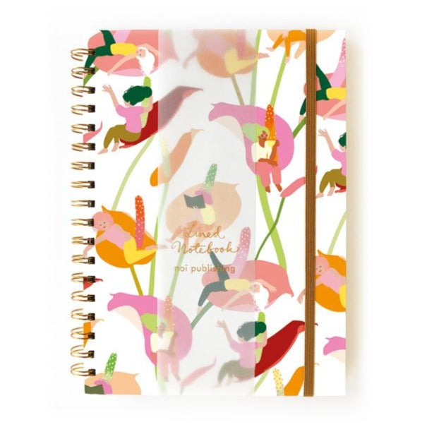 Lilly Girls Wiro Notebook