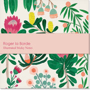 Roger la Borde King Protea Sticky Notepad