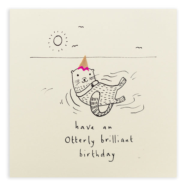 Otterly Brilliant Birthday