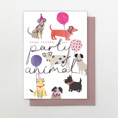 Stop the Clock Party Animal Birthday Card