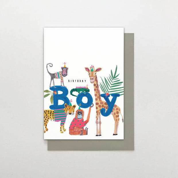 Birthday Boy Card