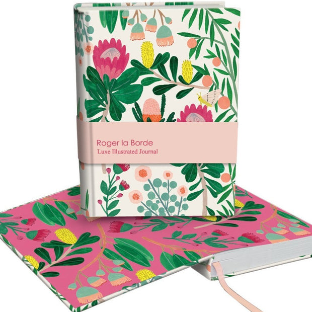 Roger la Borde King Protea Softback Journal
