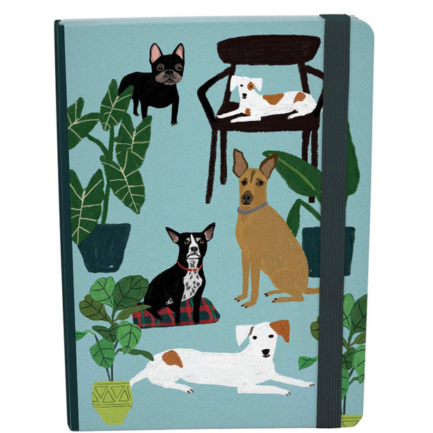 Roger la Borde Cat and Dog Palais A5 Journal