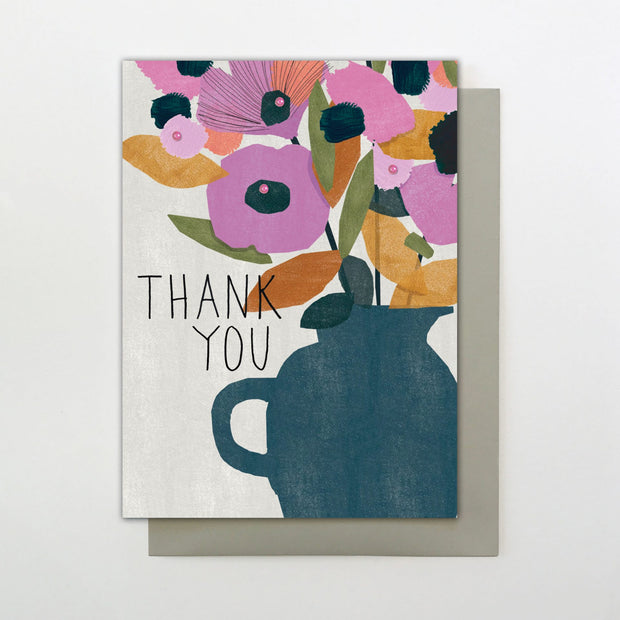 Stop the Clock Thank You Greeting Card