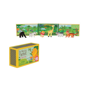 Tiger Tribe Jungle Tribe - The ultimate in pocket sized portable play