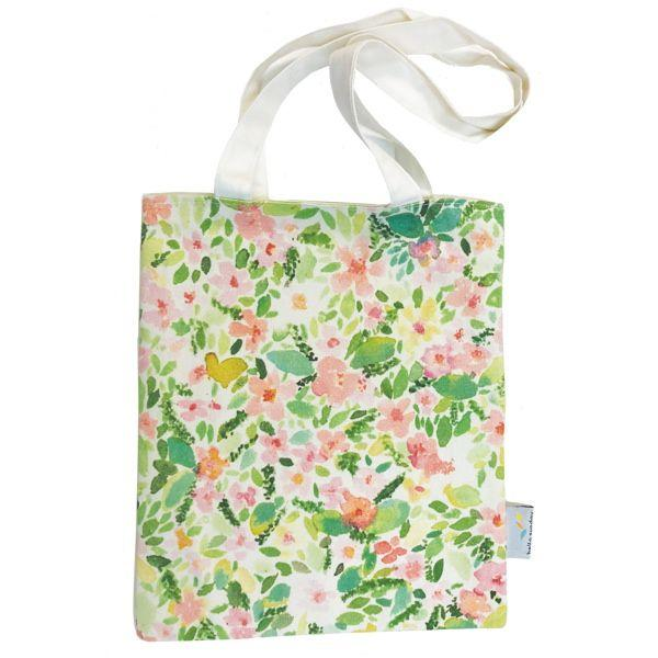 Hello Sunday Field of Flowers Medium Tote
