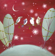 BCNA Charity Christmas Card Pack - Singing Birds