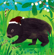 RSPCA Charity Christmas Card Pack - Wombat
