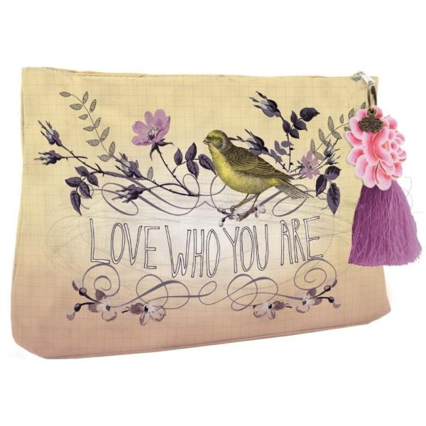 Papaya Love Who You Are Large Accessory Pouch