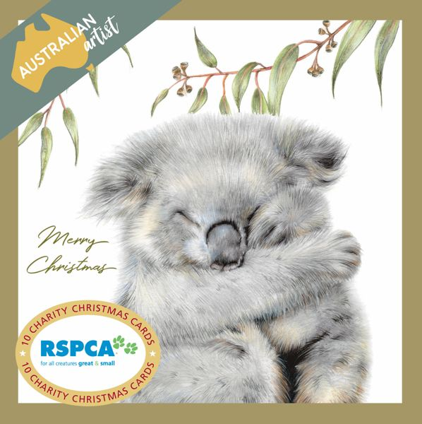 RSPCA Charity Christmas Card Pack - Koala