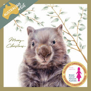 BCNA Charity Christmas Card Pack - Wombat