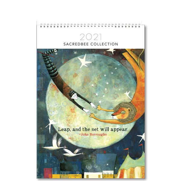 Medium Calendar - Sacred Bee