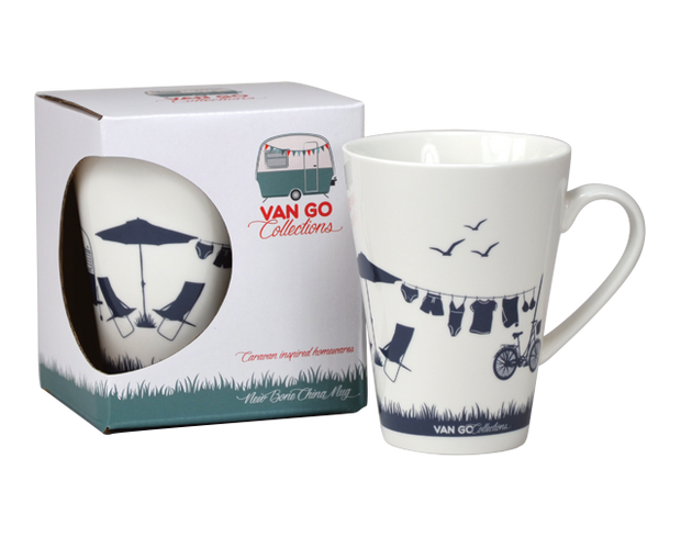 Hit The Road Summer Home Mug by Van Go Collection
