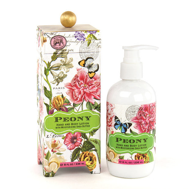 Michel Design Works Hand & Body Lotion - Peony