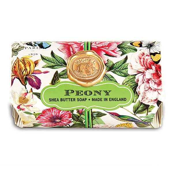 Michel Design Works Large Soap Bar - Peony