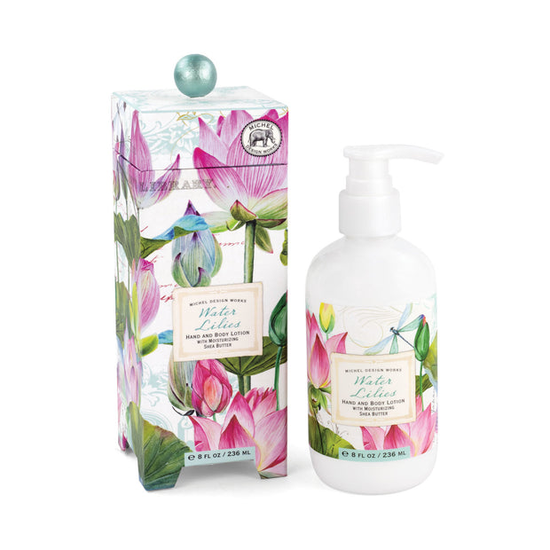 Michel Design Works Hand & Body Lotion - Water Lilies