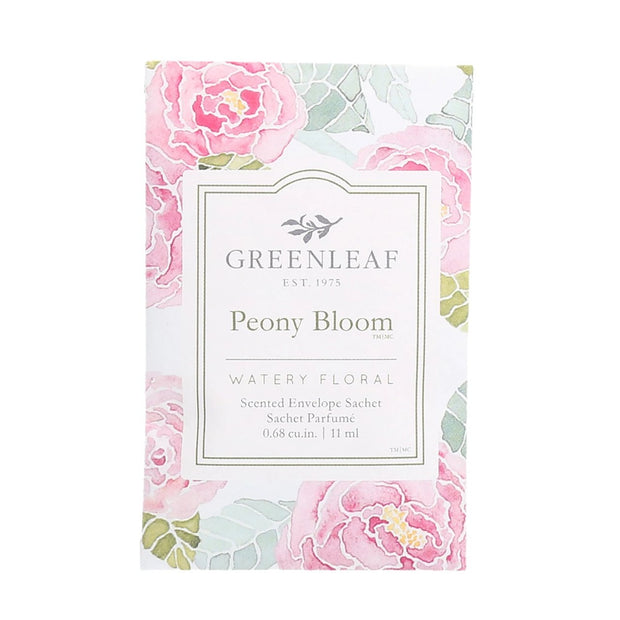 Greenleaf Peony Bloom Small Sachet