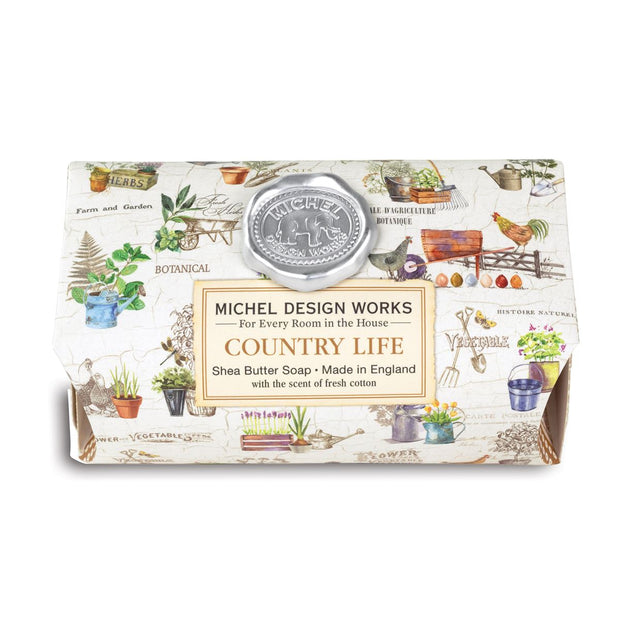 Michel Design Works Country Life Large Soap Bar