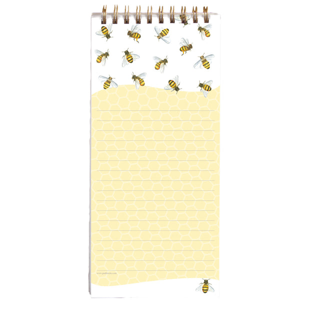 Magnetic Shopping List - Honey Bees