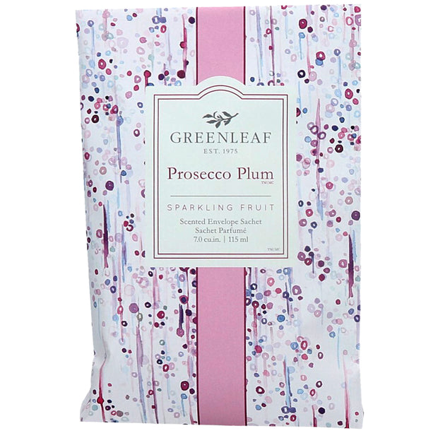 Greenleaf Prosecco Plum Large Scented Sachet