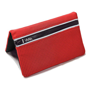 VIVRA Lite - Red - The ultimate fashion activewear accessory to carry your mobile phone, EFT card, keys and cash.