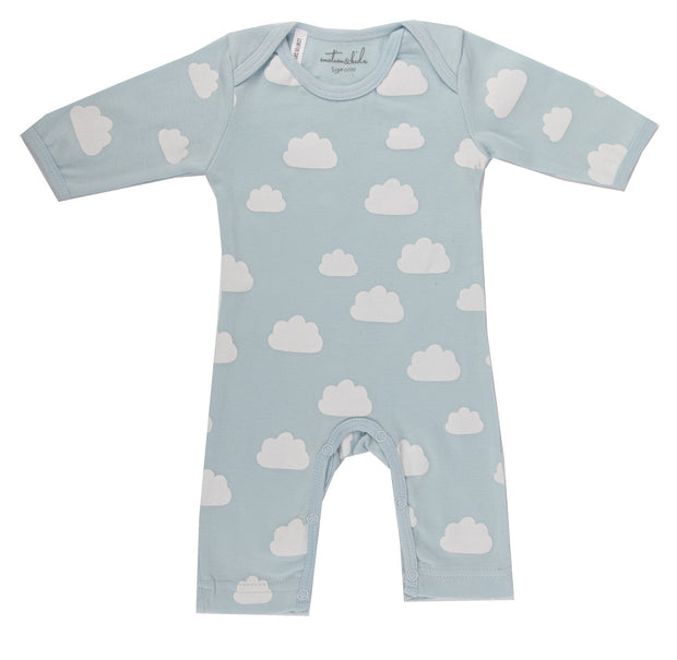 Blue Clouds All In 1 Outfit 0-3months
