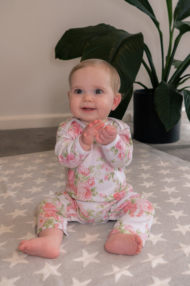 Peony Rose Long Leg Outfit 0-3months