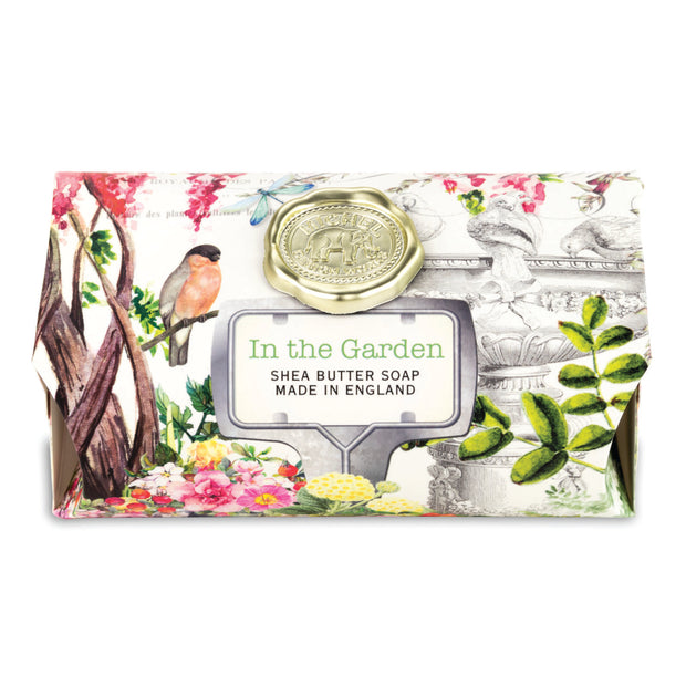 Michel Design Works Large Soap Bar - In the Garden