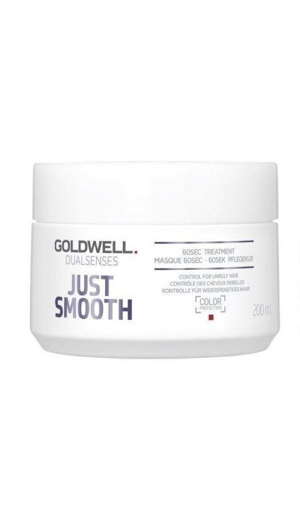 GOLDWELL Dual Senses Just Smooth 6o seconds treatment 200ml x 1 - On Line Hair Depot