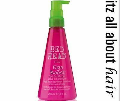 iaahhaircare,Tigi Bed Head Ego Boost - Split End Mender & Leave-in Conditioner 200ml,Styling Products,Tigi