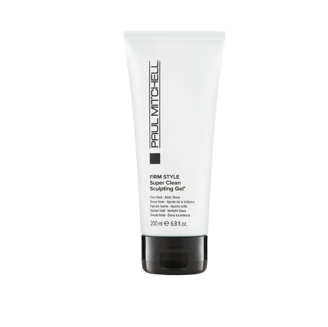 iaahhaircare,Paul Mitchell FIRM STYLE Super Clean Sculpting Gel Firm Hold. 1 x 200ml,Styling Products,Firm Style Paul Mitchell